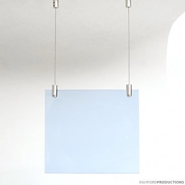 "Wire Kit WSK-8: Ceiling Mounted Suspension for 1/4"" Material"